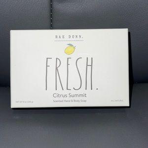 NEW RAE DUNN SOAP - Natural soap - Citrus